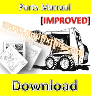 Bobcat s130 parts manual skid steer loader youfixthis for Bobcat 743 drive motor rebuild kit
