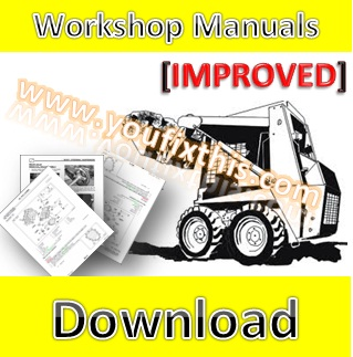Loader Youfixthis bobcat 610 611 repair manual [skid steer loader] youfixthis