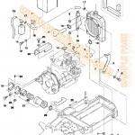 Bobcat 331 331E 334 D-Series Parts Manual [Excavator
