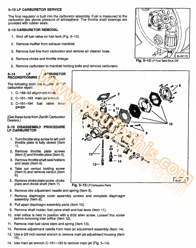 Bobcat 440 443 443b Repair Manual  Skid Steer Loader