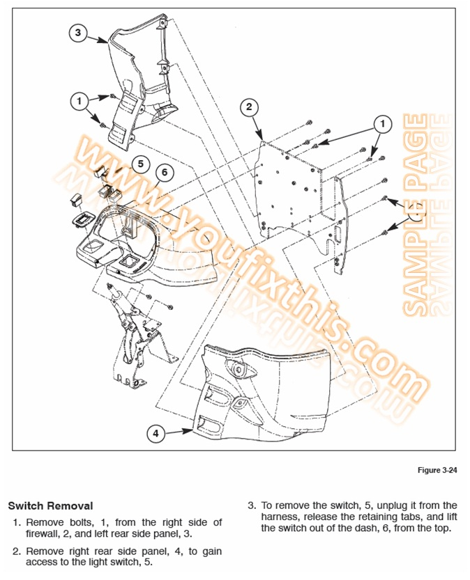 new 555e 575e 655e 675e repair manual 171 youfixthis