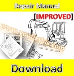 Bobcat 553 Skid Steer Loader Shop Manual Pdf Sn 513011001 513031001 besides Bobcat 753 Parts Diagram besides Mini Excavator Stump Grinder Attachment also Bobcat Excavator E45 likewise With An Excavator Bucket Lifting. on bobcat mini excavator parts diagrams