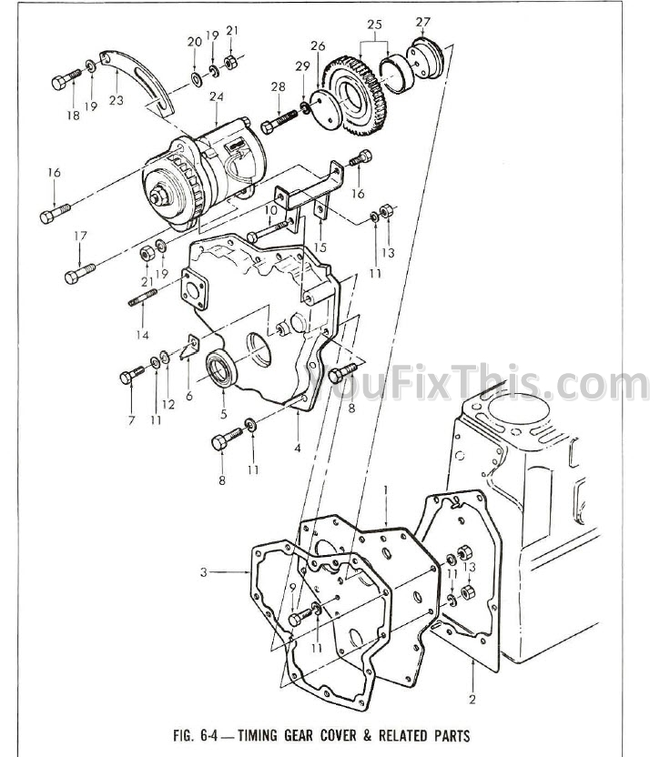 Ford 2810 Parts Manual Illustrated [Tractor] – YouFixThisYouFixThis