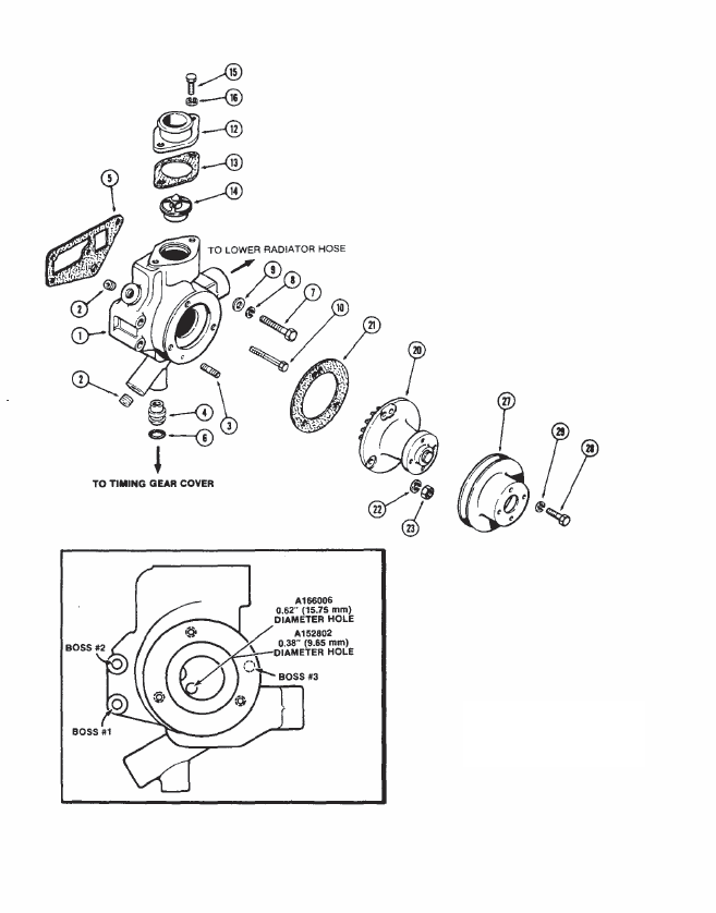 engine repair diagram