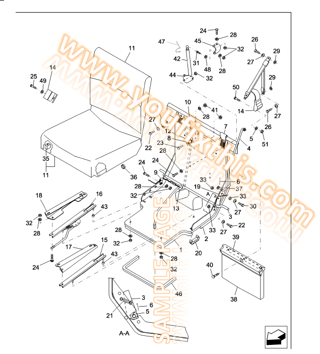 NH Parts illustrtion new holland l565 parts manual [skid steer loader] youfixthis