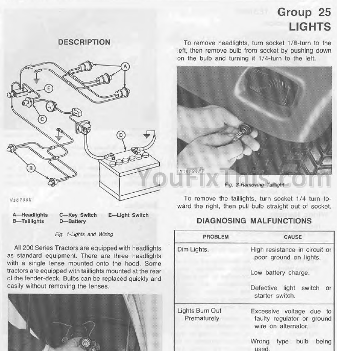 john deere 210 wiring diagram   29 wiring diagram images