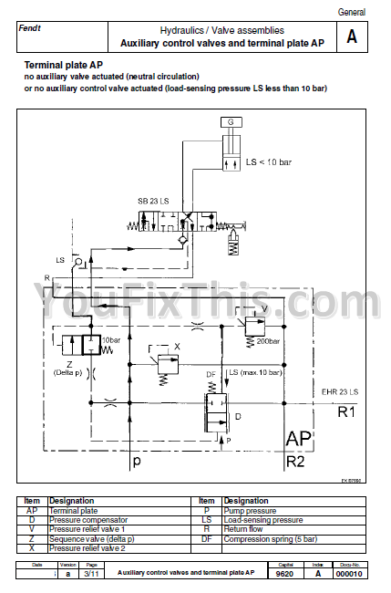 fendt farmer 310 311 ls lsa workshop repair manual ... fiat 450 tractor wiring diagram 2004 ktm 450 exc wiring diagram