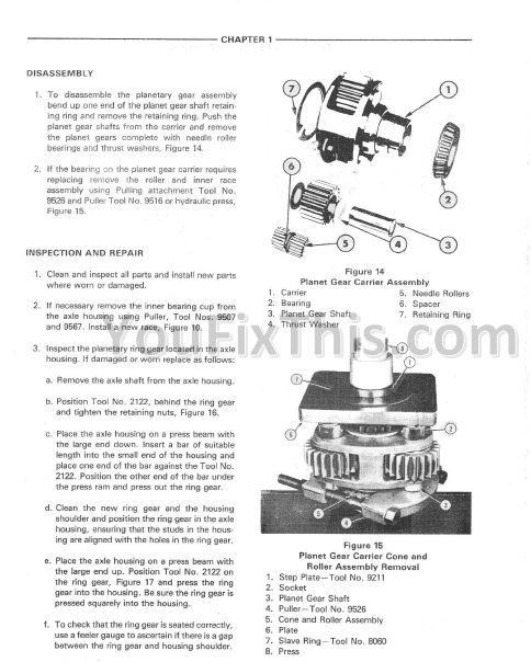 Ford 555 Backhoe Parts Manual : Ford repair manual tractor loader backhoe