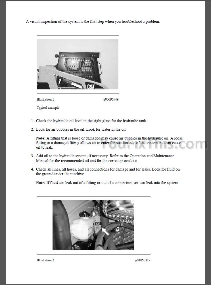 Caterpillar 232b2 Repair Manual Sch02475