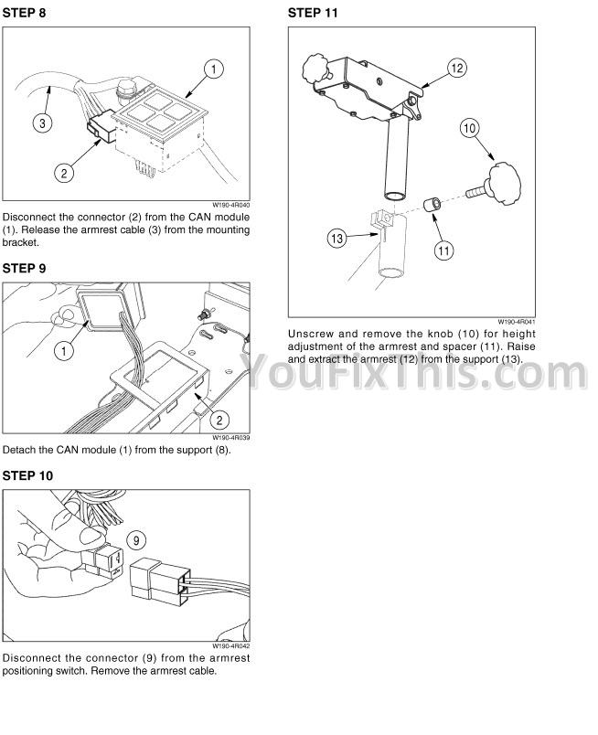 Case 650K 750K 850K TIER II Repair Manual  Crawler Dozer     YouFixThis