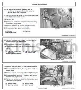 john deere 317 320 ct322 repair manual skid steer. Black Bedroom Furniture Sets. Home Design Ideas