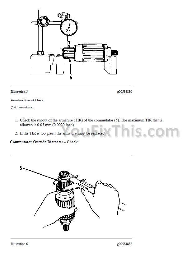 Caterpillar 236 246 252 262 Repair Manual 4yz 5sz Fdg Ced