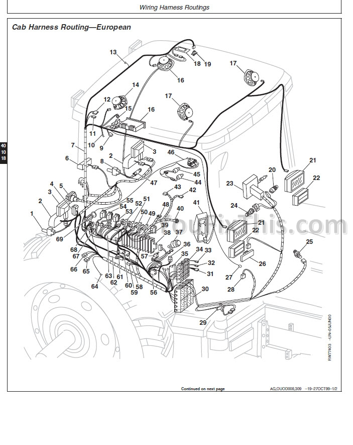 john deere fuse box diagram for 850 john deere fan wiring