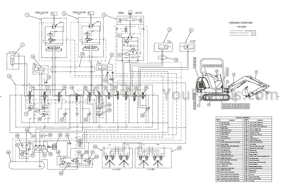 Caterpillar 301 5 301 6 301 8 Repair Manual  Mini
