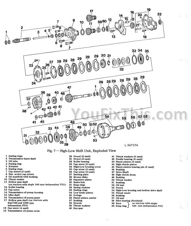 john deere 2130 repair manual  tractor   u00ab youfixthis