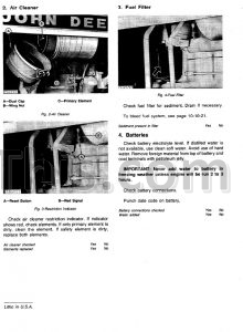 parts manual 1978 john deere 570a grader