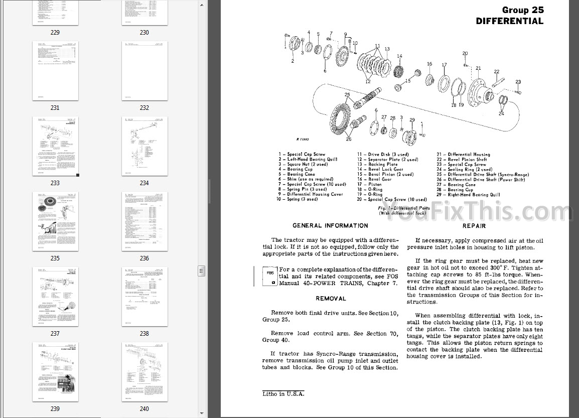 John Deere 3235a Wiring Diagram Page 3 And Schematics 235 F525 Transmission Trusted Source