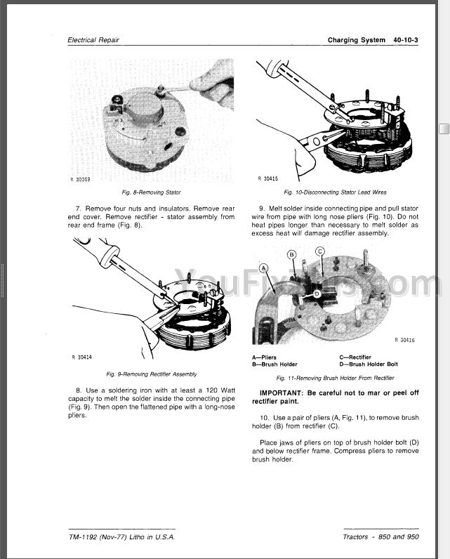 29 John Deere 850 Tractor Parts Diagram