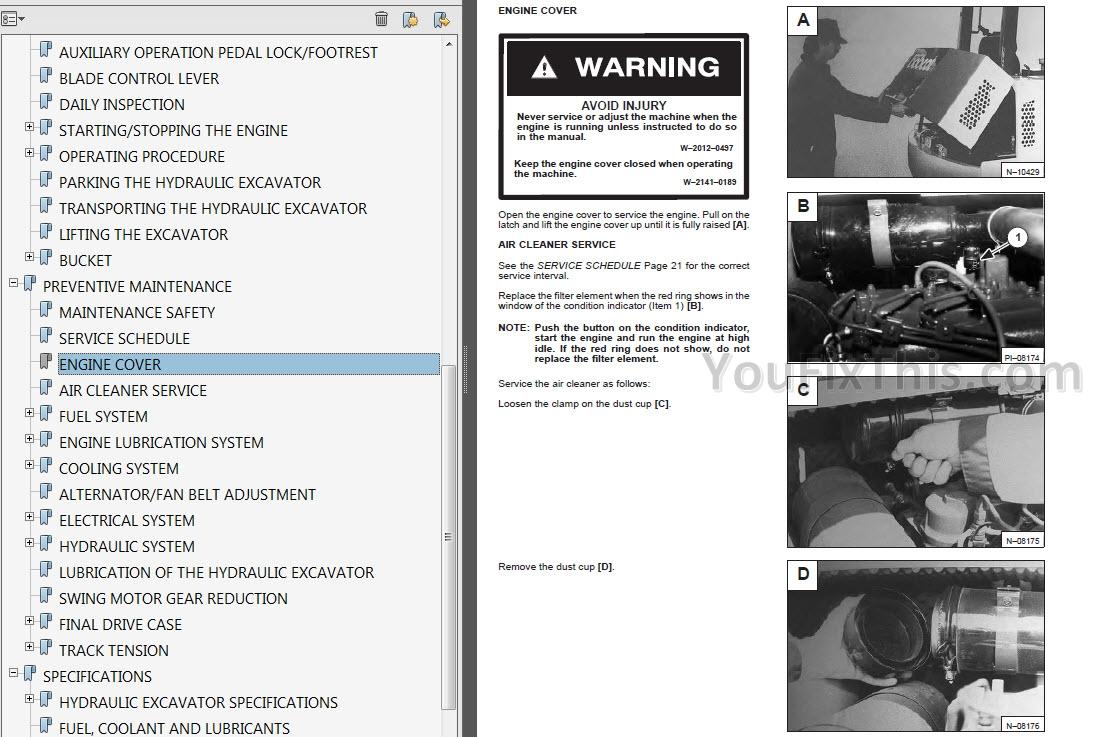 Bobcat 324 Operator Manual