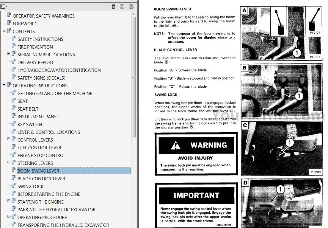 Bobcat 843 Skid Steer Loader Operation and Maintenance ...