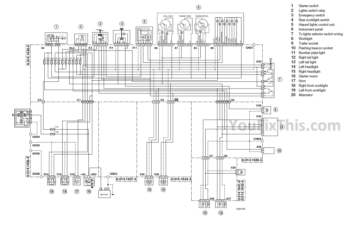 ford naa 12 volt wiring diagram