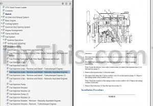 Caterpillar    277C Repair Manual  Multi Terrain Loader