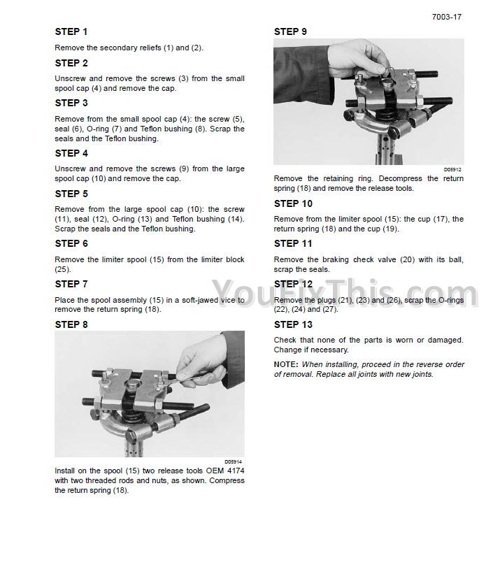 Case SR SV TR TV Series Alfa Operator's Manual [Skid Steer