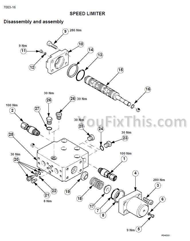 case wx150 wx170 wx200 repair manual  wheel excavator
