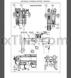 New Holland TVT135 TVT145 TVT155 TVT170 TVT190 TVT195 Repair Manual on