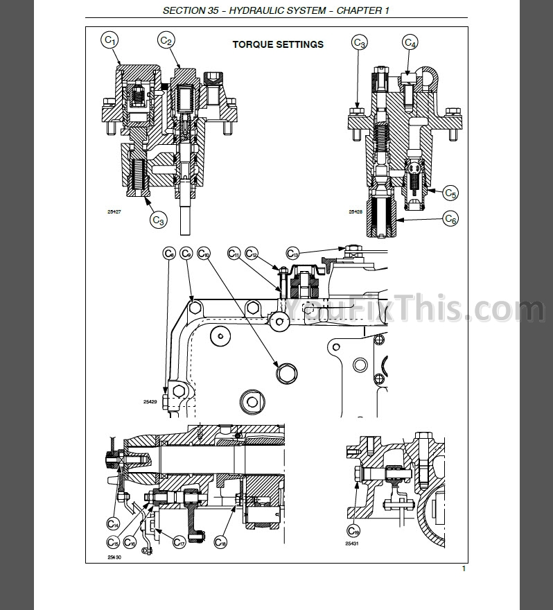 new holland tl80a tl90a tl100a service manual  tractor