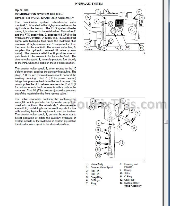 New Holland TZ18DA TZ22DA TZ24DA TZ25DA Repair Manual [Tractor ... on