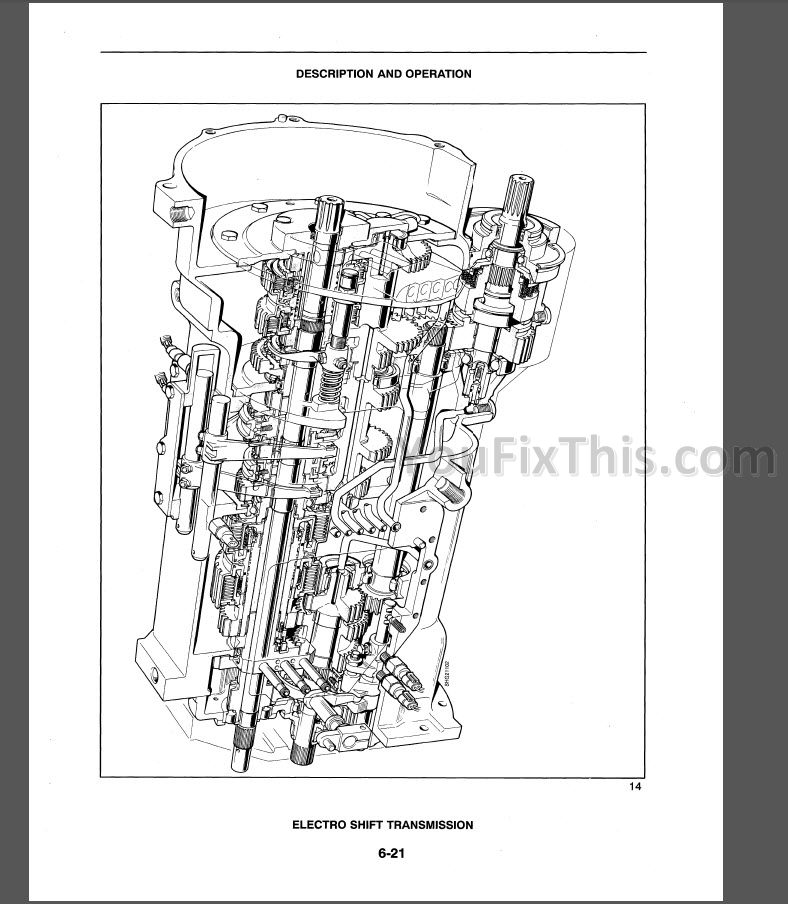 New Holland TS90 TS100 TS110 Repair Manual [Tractor] « YouFixThis