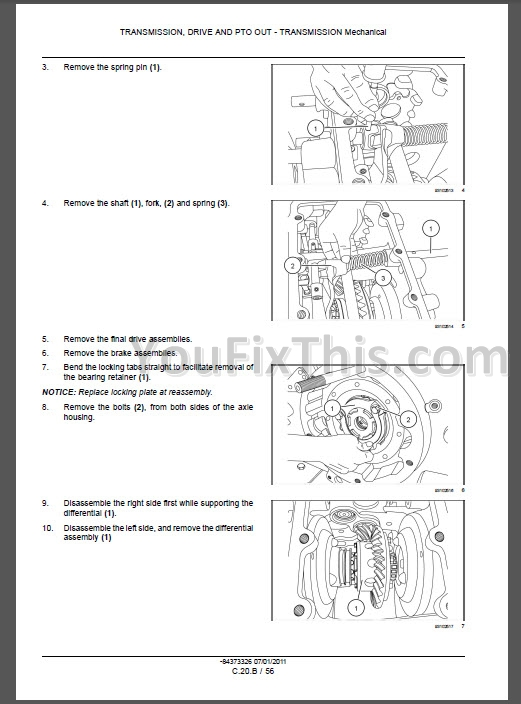 new holland tractor repair manual