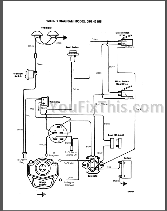 ford yt 16 wiring diagram
