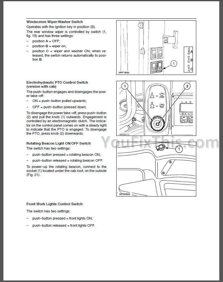 New holland Tl90a Repair manual
