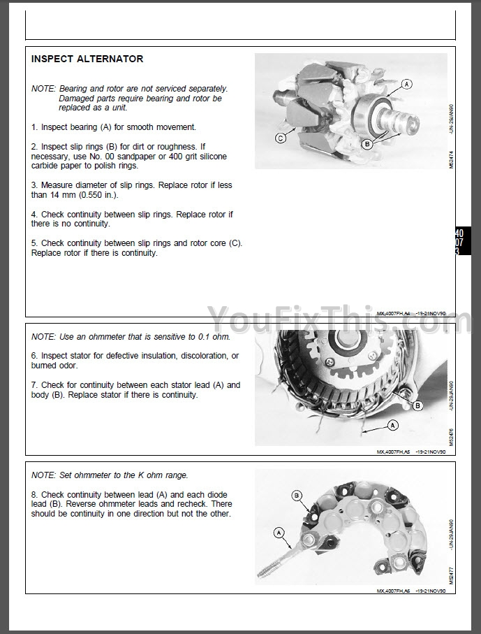 John Deere Gx70 Gx75 Gx85 Gx95 Sx85 Srx75 Srx95 Repair