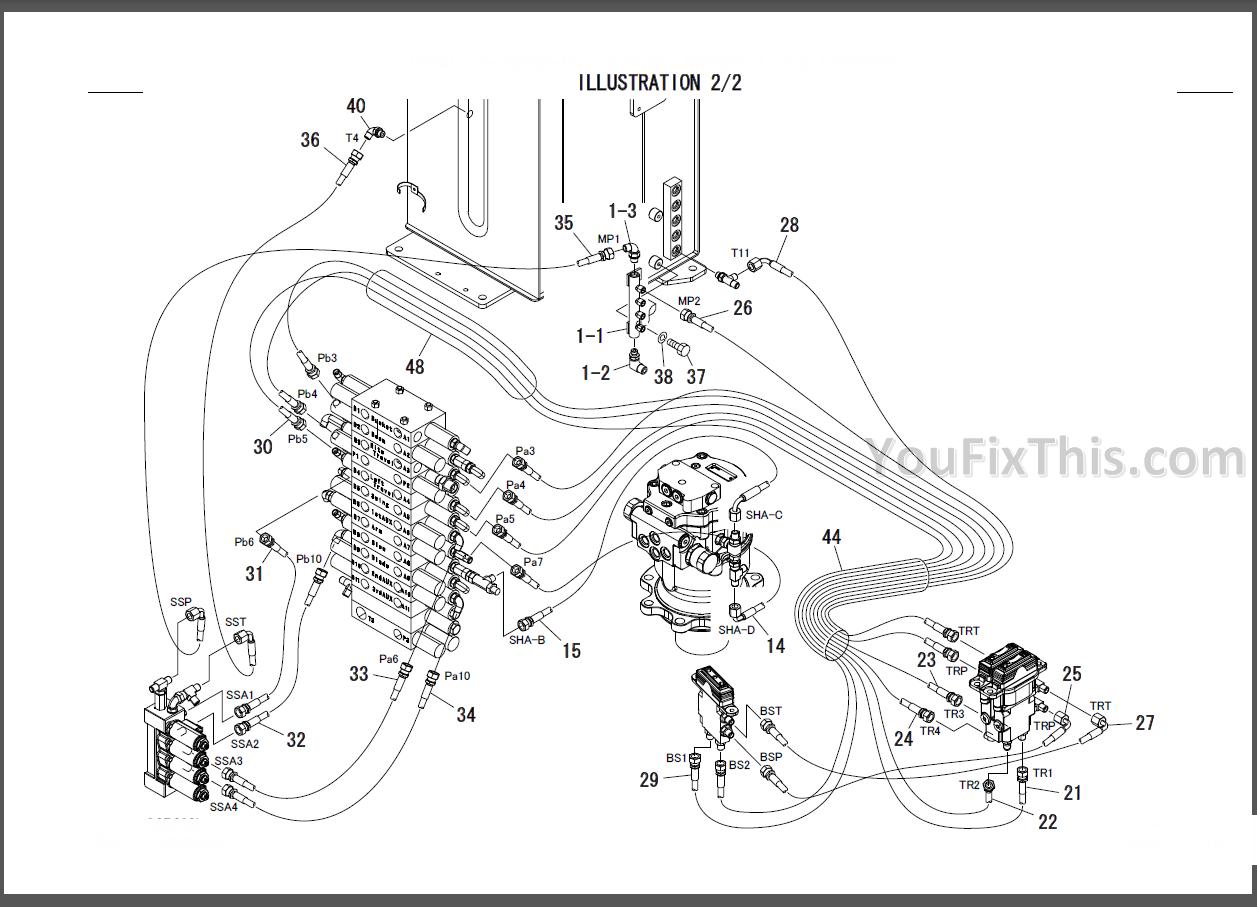takeuchi tb135 parts manual  excavator engine   u00ab youfixthis